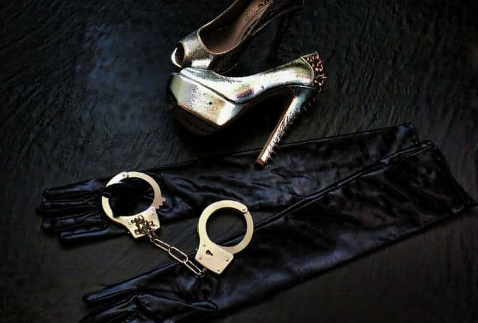 BDSM Handcuffs & High Heels