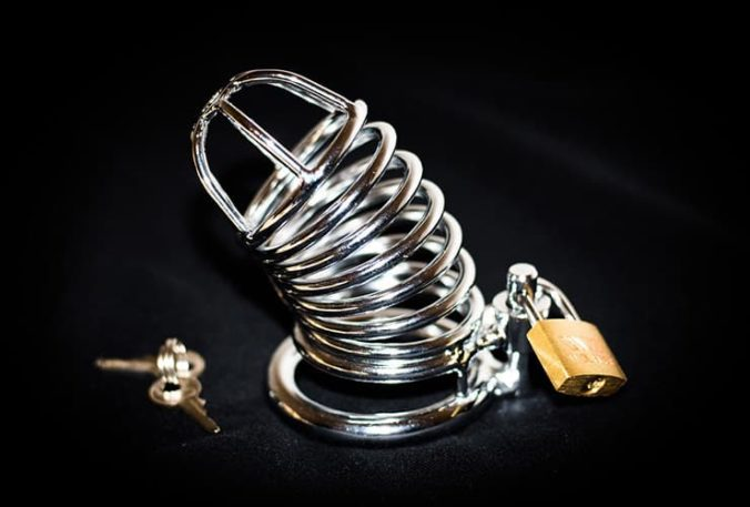Male Steel Chastity Device